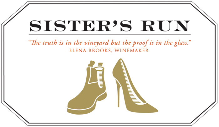 Hebdo Vin Sisters Run Logo